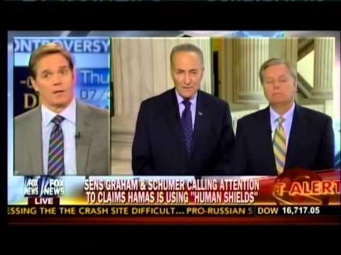 Graham, Schumer Call Attention to Hamas' Use of Human Shields