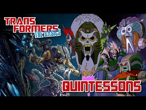 TRANSFORMERS: THE BASICS On The QUINTESSONS