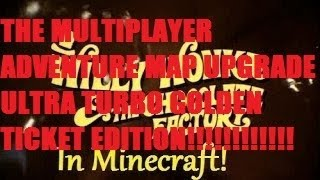 "Willy Wonka Gene Wilder Factory in Minecraft ""TMAMUUTGTE"" + DOWNLOAD!!!!"