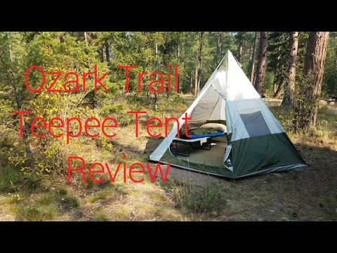 competitive price 9f5cb 749fe OZARK TRAIL TEEPEE TENT REVIEW