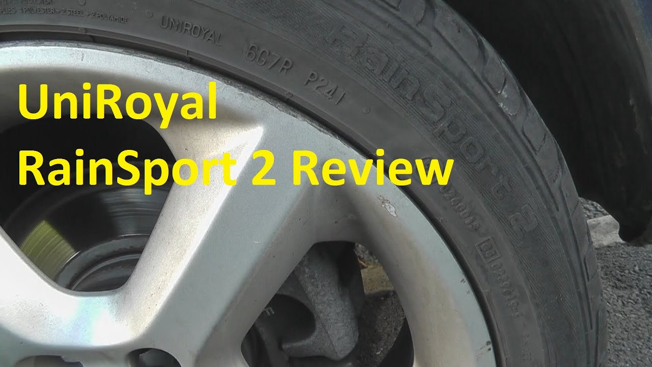uniroyal rainsport 2 tyre review youtube. Black Bedroom Furniture Sets. Home Design Ideas