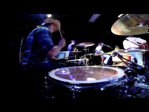 Jeff Carson - The Car - Live 2016 - (Drum Cam)
