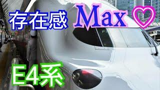 【上越新幹線 】2階建て新幹線E4系で行く、新潟マリンピア日本海  東京→新潟