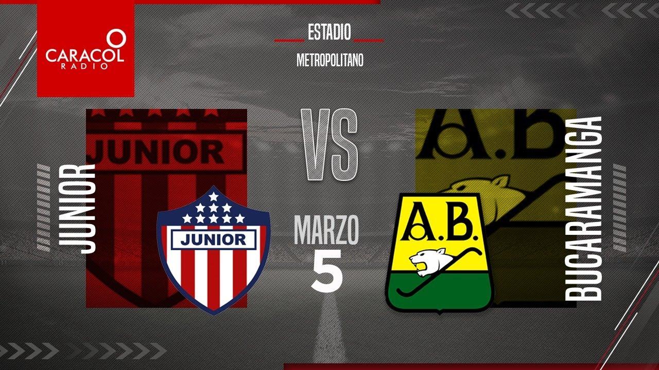EN VIVO | Junior vs. Bucaramanga, Liga Colombiana por el Fenómeno del Fútbol