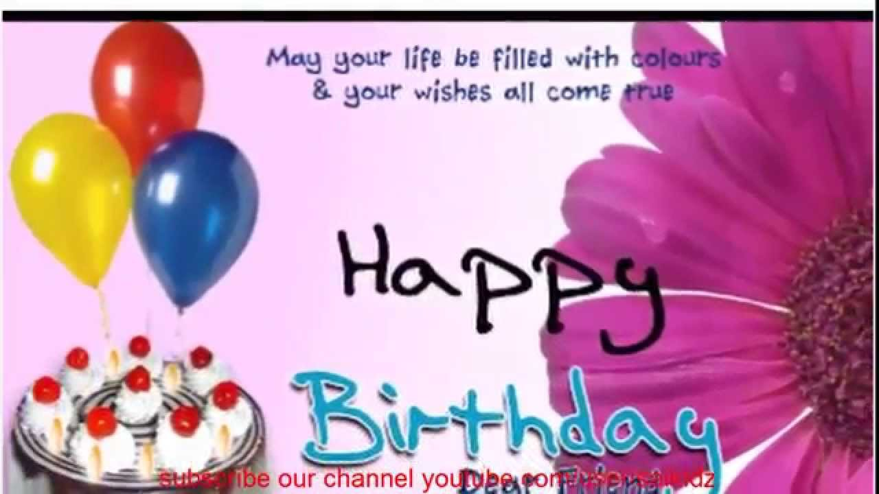 happy birthday quotes for best friend for whatsapphappy birthday quotes for friend youtube