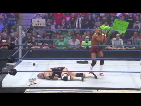 David Otunga Dances To Brodus Clay's Theme Song - SmackDown 22.06.2012