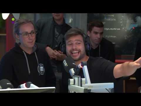 Burgers van Barneveld te gast bij Radio 538 Big Daddy challenge Live