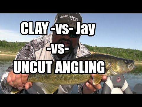 Download Clay -vs- Jay -vs- UNCUT ANGLING?? | Top 5 Biggest Walleye!!