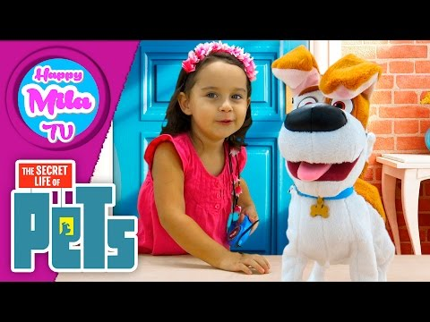 The Secret Life Of Pets Best Friend Max Walking Talking Friend smart toy unboxing | HappyMilaTV #304