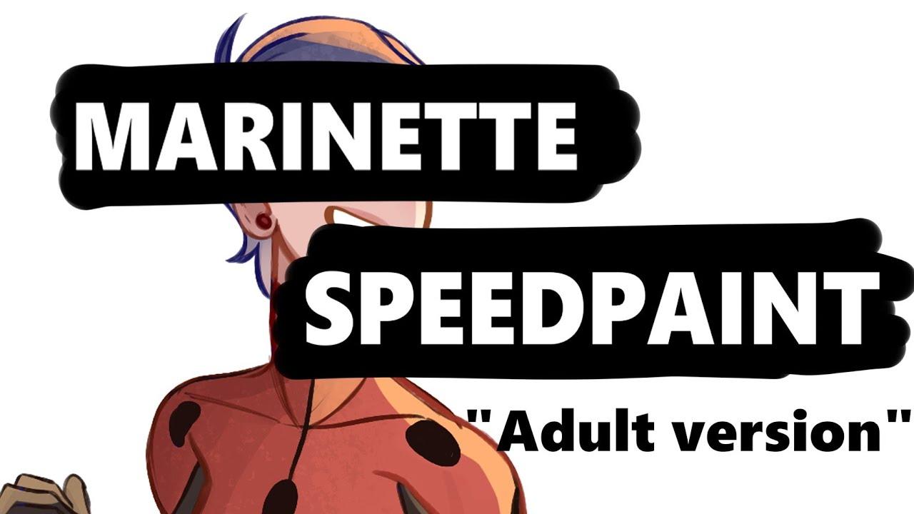 Marinette ( Adult version )_ Miraculous Ladybug [SpeedPaint]
