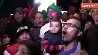 Explosion de joie à Casablanca suite à la qualification du Maroc au Mondial 2018