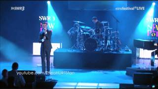 Hurts Confide In Me HD Live Performance In Germany Kylie Minogue Cover