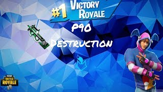 NEVER GIVE ME P90! | Fortnite Mobile Solo-Duo win | KQU