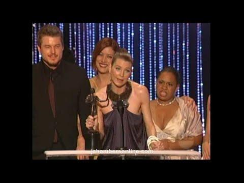 Grey's Anatomy wins at the 2007 Screen Actors Guild Awards (Jan. 28, 2007)