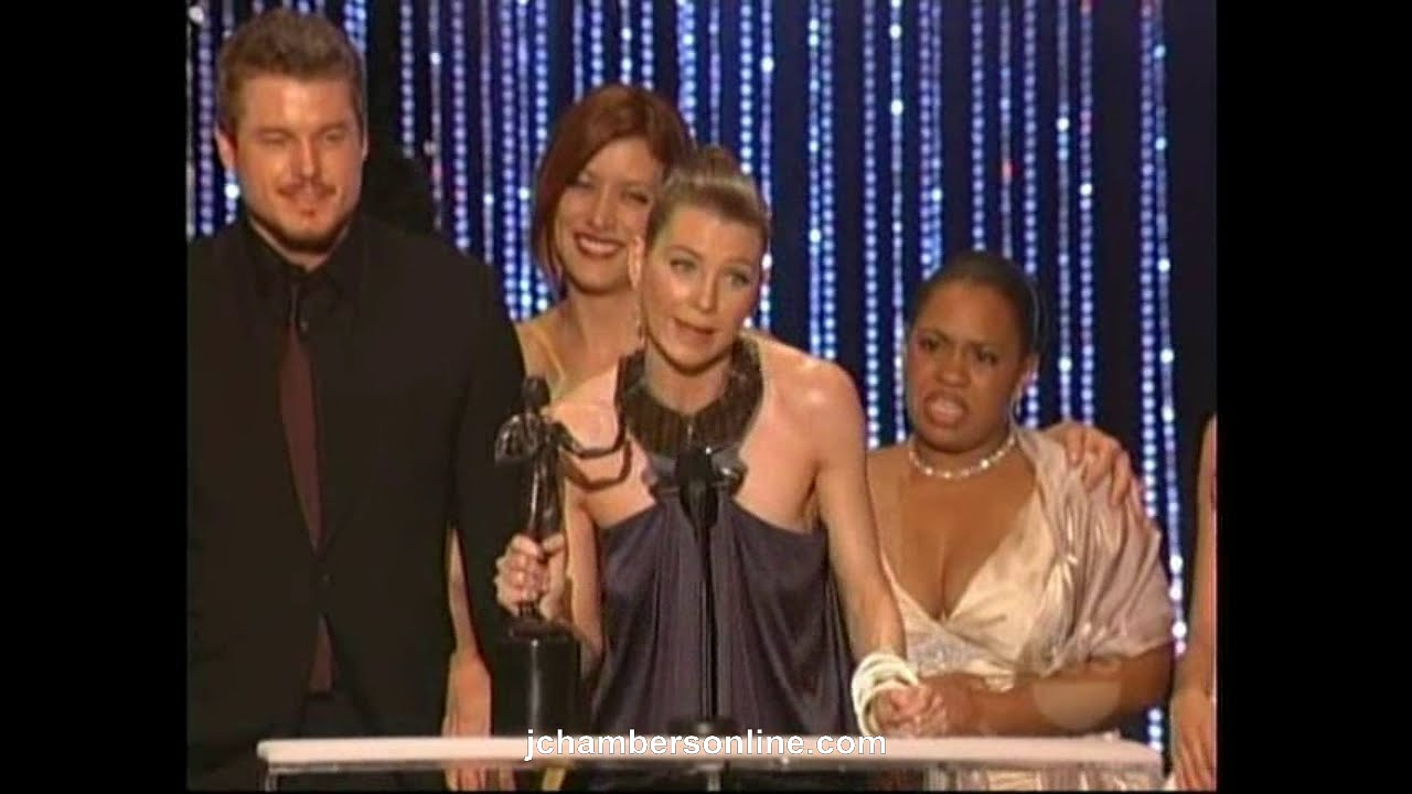 Grey\'s Anatomy wins at the 2007 Screen Actors Guild Awards (Jan. 28 ...
