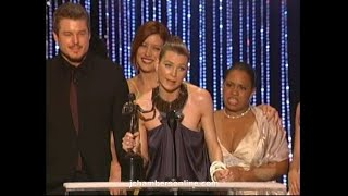 Grey's Anatomy wins at the 2007 Screen Actors Guild Awards (Jan. 28, 2007)
