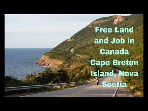 Update to Free Land and Job Offer in Canada - Cape Breton Island, Nova Scotia