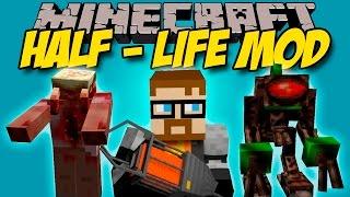 HALF LIFE MOD - Armas, Energia, Aliens y mas! - Minecraft mod 1.6.4 y 1.7.10 Review ESPAÑOL