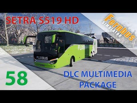 [Fernbus Simulator] Episode n°58 : Setra S519HD + Radio Info Trafic !