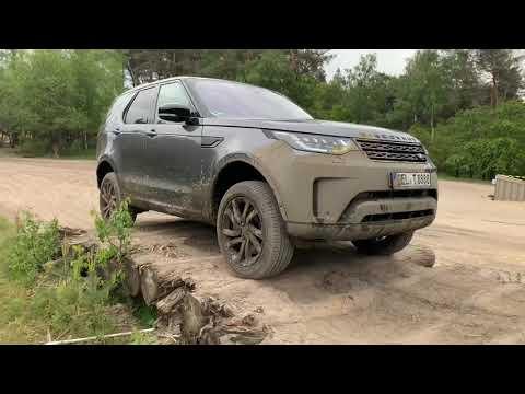 Discovery 5 Land Rover 3.0 HSE Lux. Offroad- Test Fürsten Forest