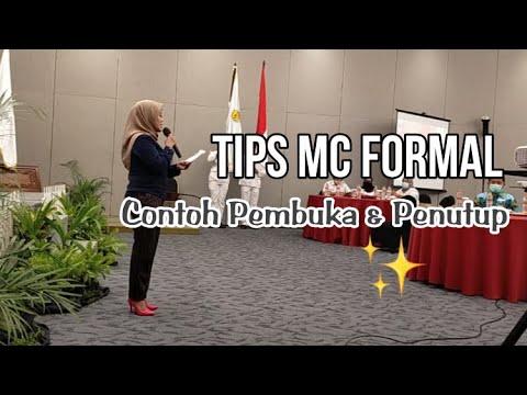 Download TIPS MC FORMAL & CONTOH OPENING CLOSING
