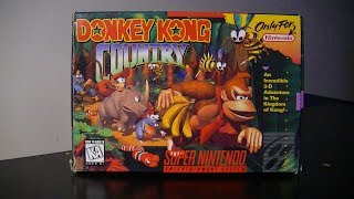 Retro Unboxing - Donkey Kong Country!