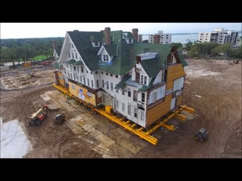 Historic Belleview Biltmore Hotel Moved