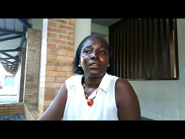 Interview de Marie Florimont, de l'EVS de Kourou