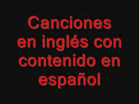 Canciones en ingl s con frases en espa ol in ditas youtube for En ingles frases
