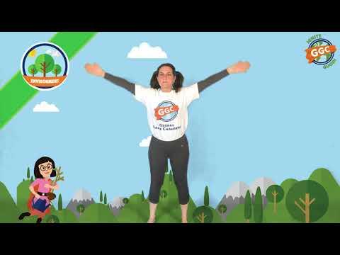 Global Game Changers Superhero Heart Badge Yoga - ENVIRONMENT