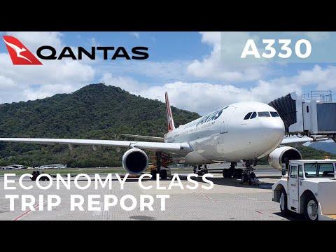 Trip Report: Qantas Airbus A330 Domestic Hop Cairns - Sydney