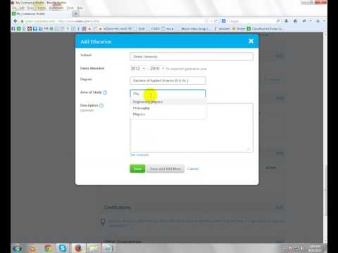 How to make a oDesk Account   Part  Five