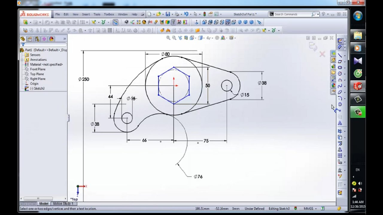 3d to 2d solidworks