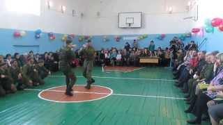 Рукопашный бой. Разведрота. 38 ОМСБР. 2013г.