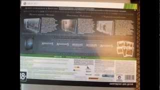 Распаковка Assassin`s Creed Antology xbox 360 (рус)