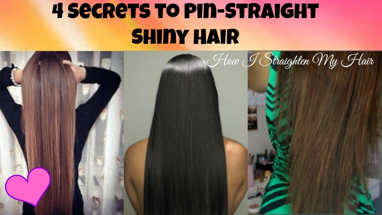 Perfect Straight Hair Naturally
