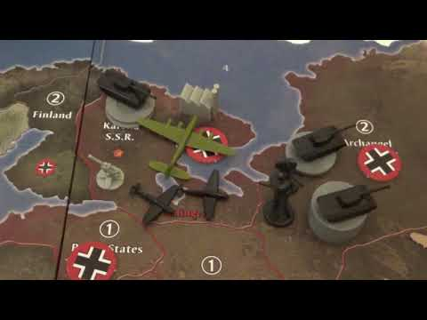 Axis and Allies Anniversary Edition Gameplay