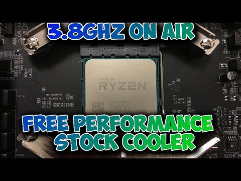 how to overclock ryzen 5 1600 to 3.8ghz with stock cooler
