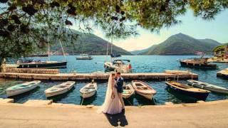 Стильная свадьба в Черногории Wedding in Montenegro
