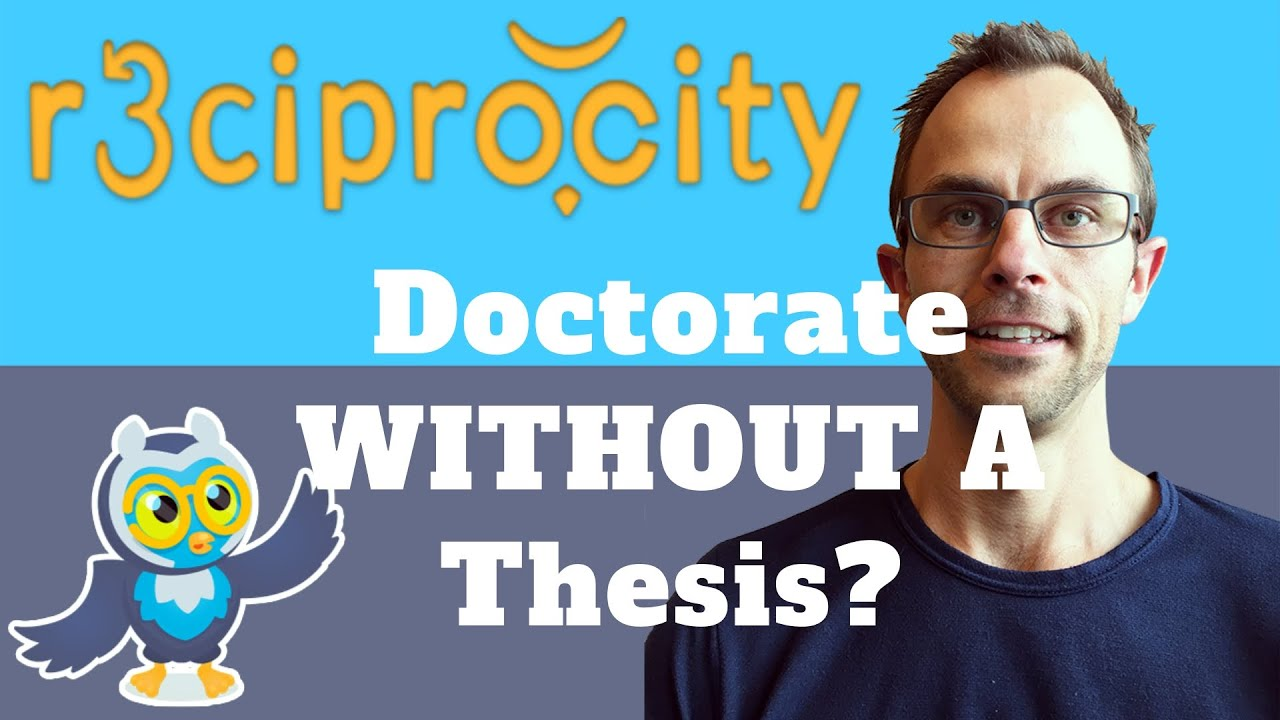 Doctorate without dissertation