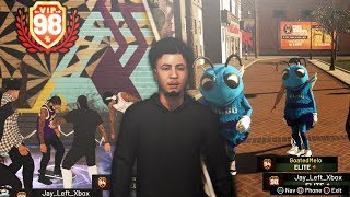 98 OVERALL REACTION! i unlocked MASCOTS on the most UNGUARDABLE BUILD in NBA 2K19