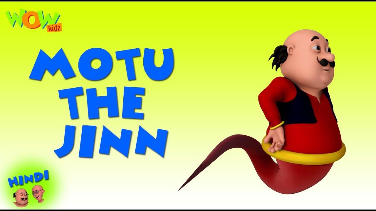 Motu The Jinn Motu Patlu In Hindi 3d Animation Cartoon As On