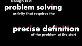What Is Design? Is it a Problem Solving Activity?