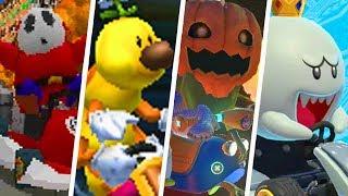 Evolution of Super Mario Enemies in Mario Kart Games (2003 - 2018)