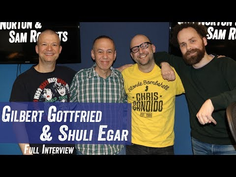 Gilbert Gottfried & Shuli Egar - Cameo, 'Aladdin', Being Frugal - Jim Norton & Sam Roberts