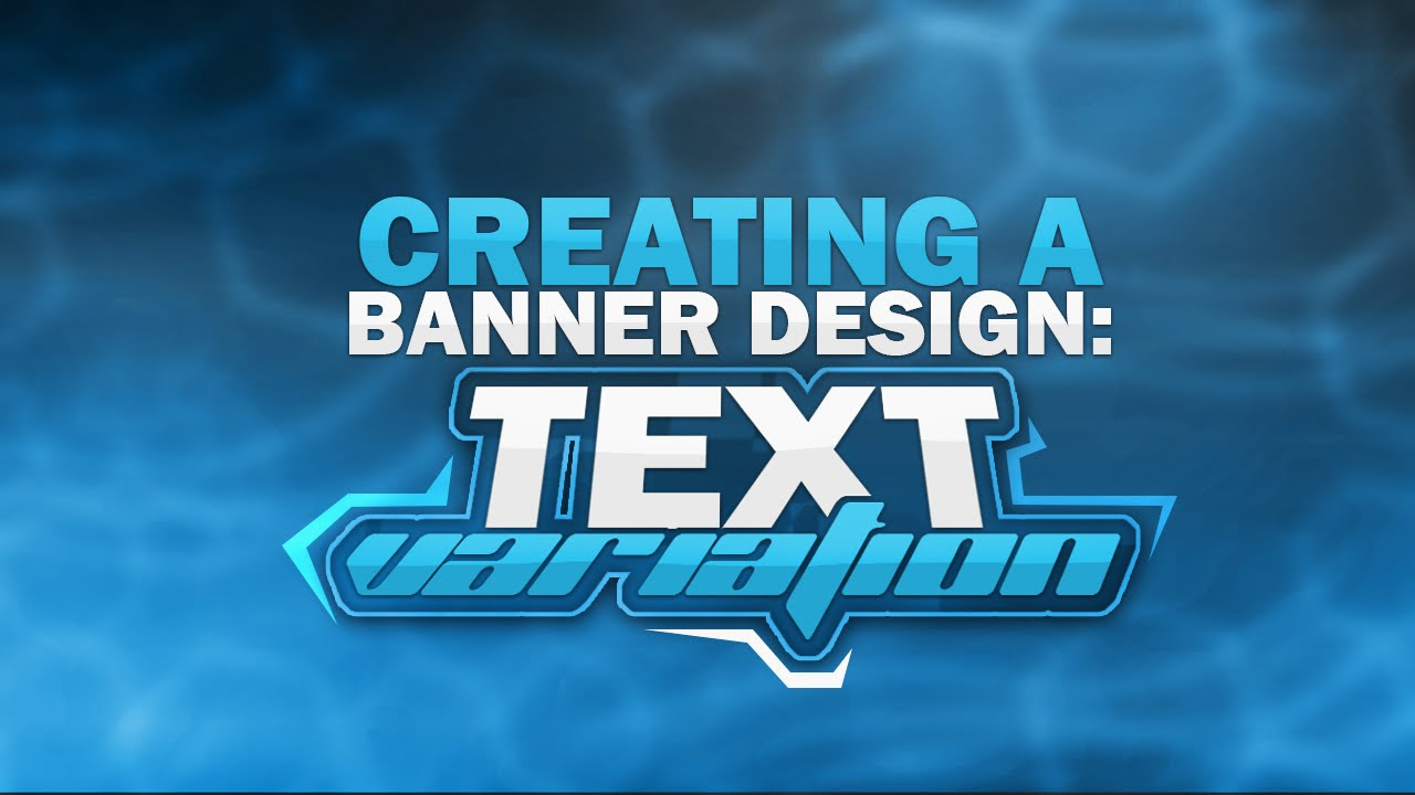 Banner fonts for photoshop 28 images 29 images of free youtube photoshop tutorial creating a banner text variation baditri Image collections