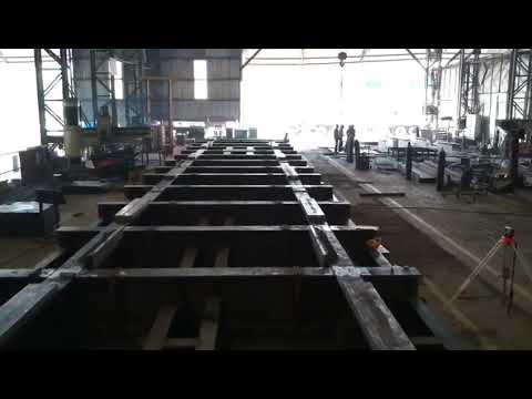 Fabrication and Assembly of Traveling frame for Tenova