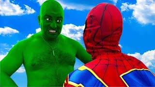 Big Hulk vs Spiderman #2