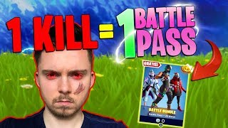 FREE BATTLE PASS in Fortnite Challenge!