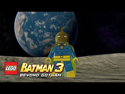 LEGO Batman 3: Beyond Gotham - Doctor Fate Moon Base free roam